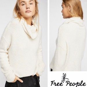 Free People Stormy Cowl Neck Sweater (180)